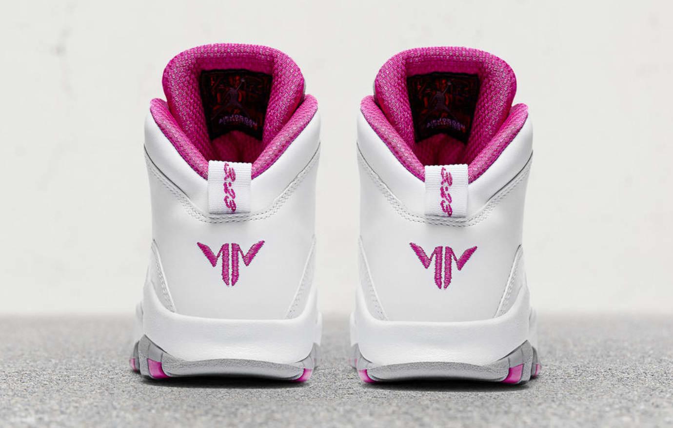 a6776630c040 Maya Moore Air Jordan 10 Release Date Heel AA2900-159