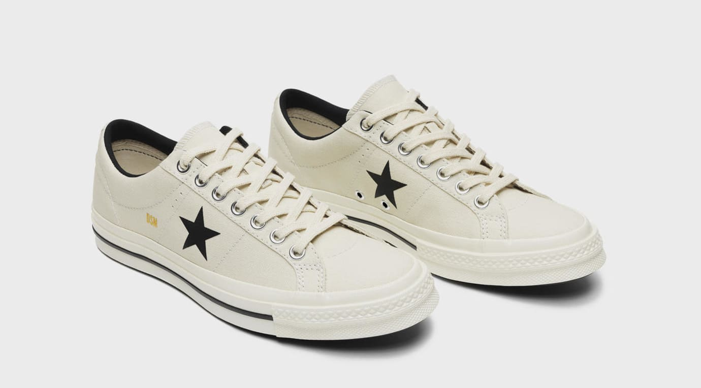 size 40 2ad44 80c58 Image via Converse Dover Street Market x Converse One Star  White  (Pair)