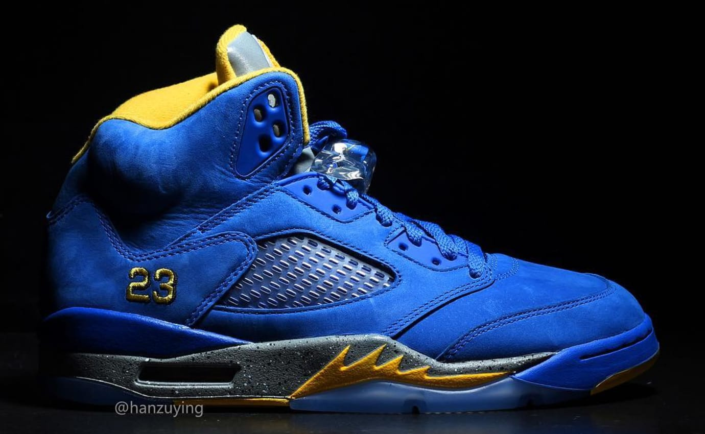 Air Jordan 4 JSP 'Laney' Varsity/Royal CS2720-400