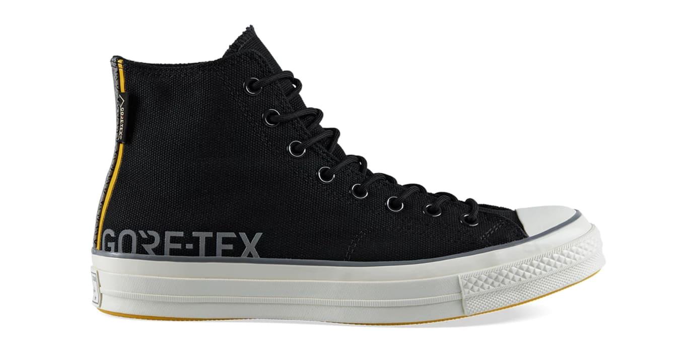 Carhartt WIP x Converse Chuck 70 'Gore-Tex' Black (Lateral)