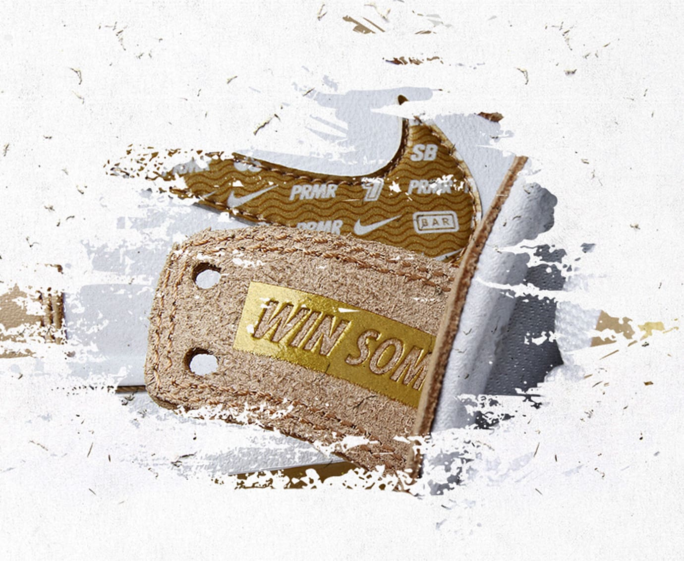Premier x Nike SB Dunk High TRD ('Win Some' Detail)