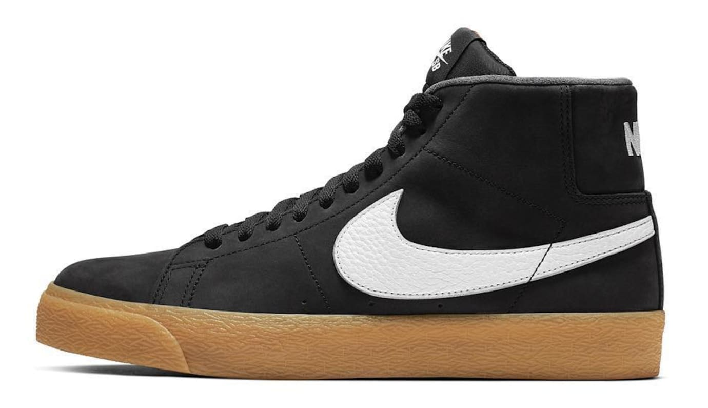 Nike SB Blazer Orange Label (Lateral)
