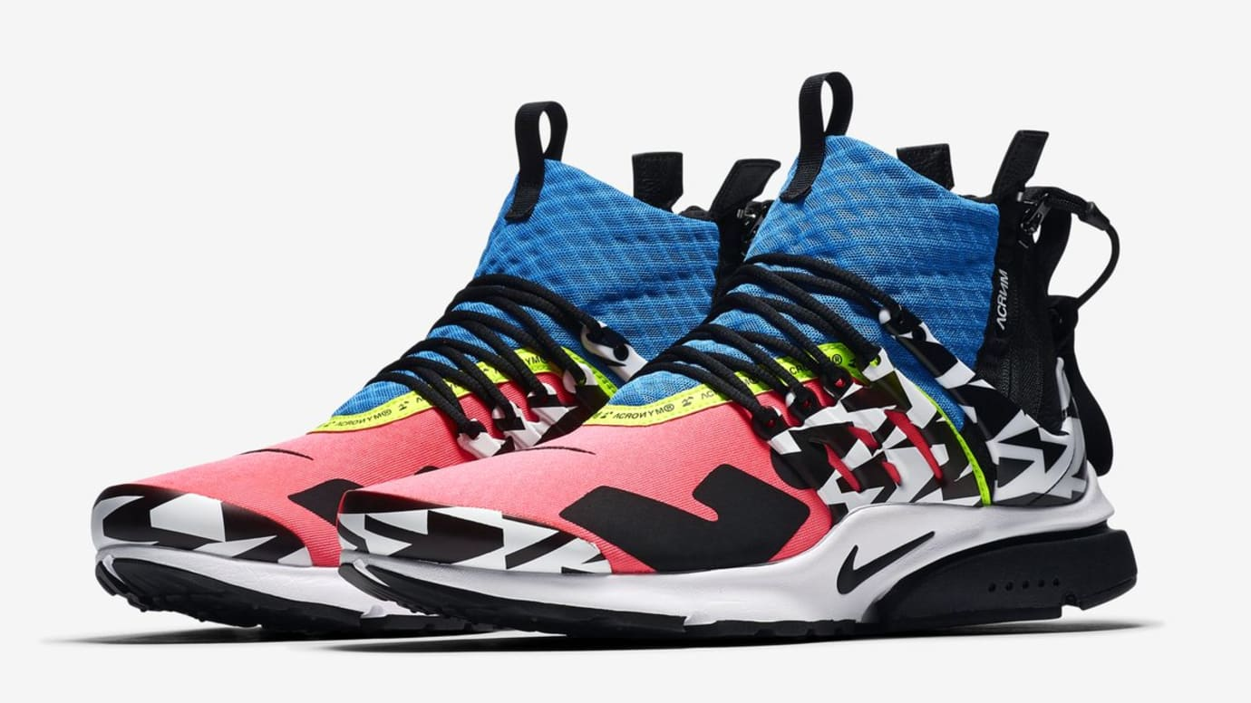 7a127108118 Acronym x Nike Air Presto Mid  Racer Pink Photo Blue Black White