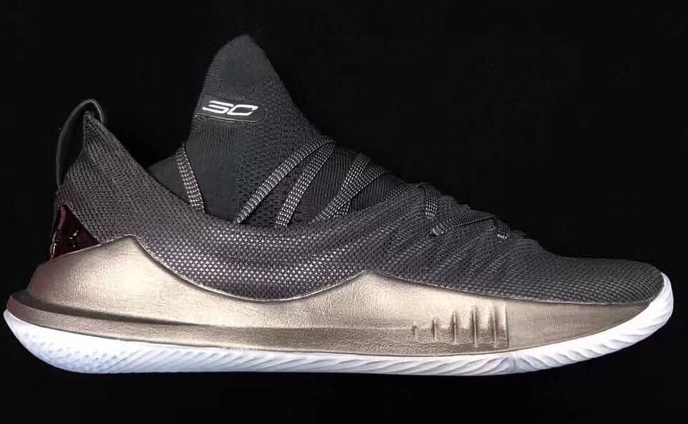 low priced 686e0 a6852 Under Armour Curry 5 'Black' and 'White' Images | Sole Collector