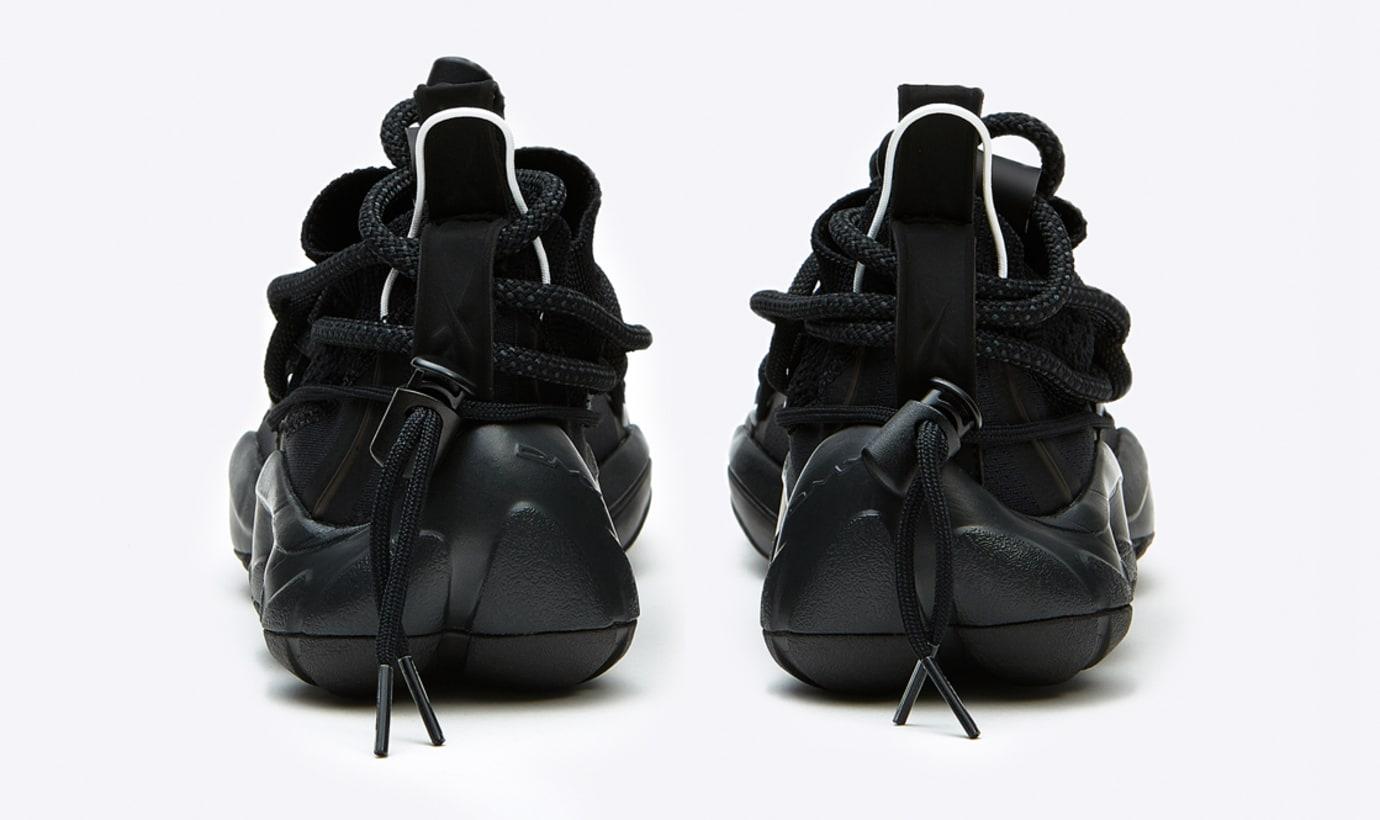 Pyer Moss x Reebok DMX Fusion Experiment 'Black' (Heel 2)