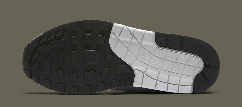 Nike Air Max 1 White/Light Pumice/Black/Dark Stucco 319986-105 (Sole)