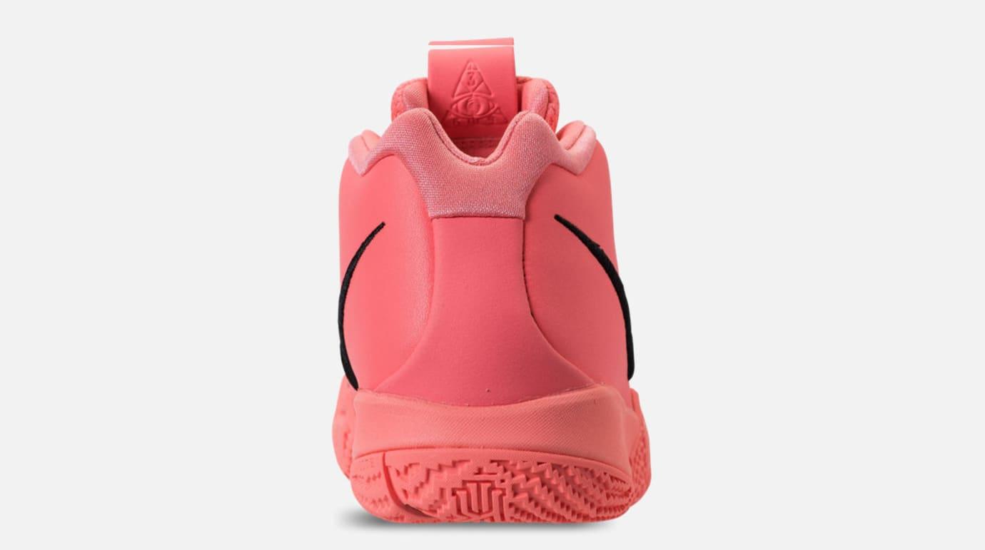 812960806040 Image via Finish Line Nike Kyrie 4 GS  Lt Atomic Pink Hyper Pink  (Heel)