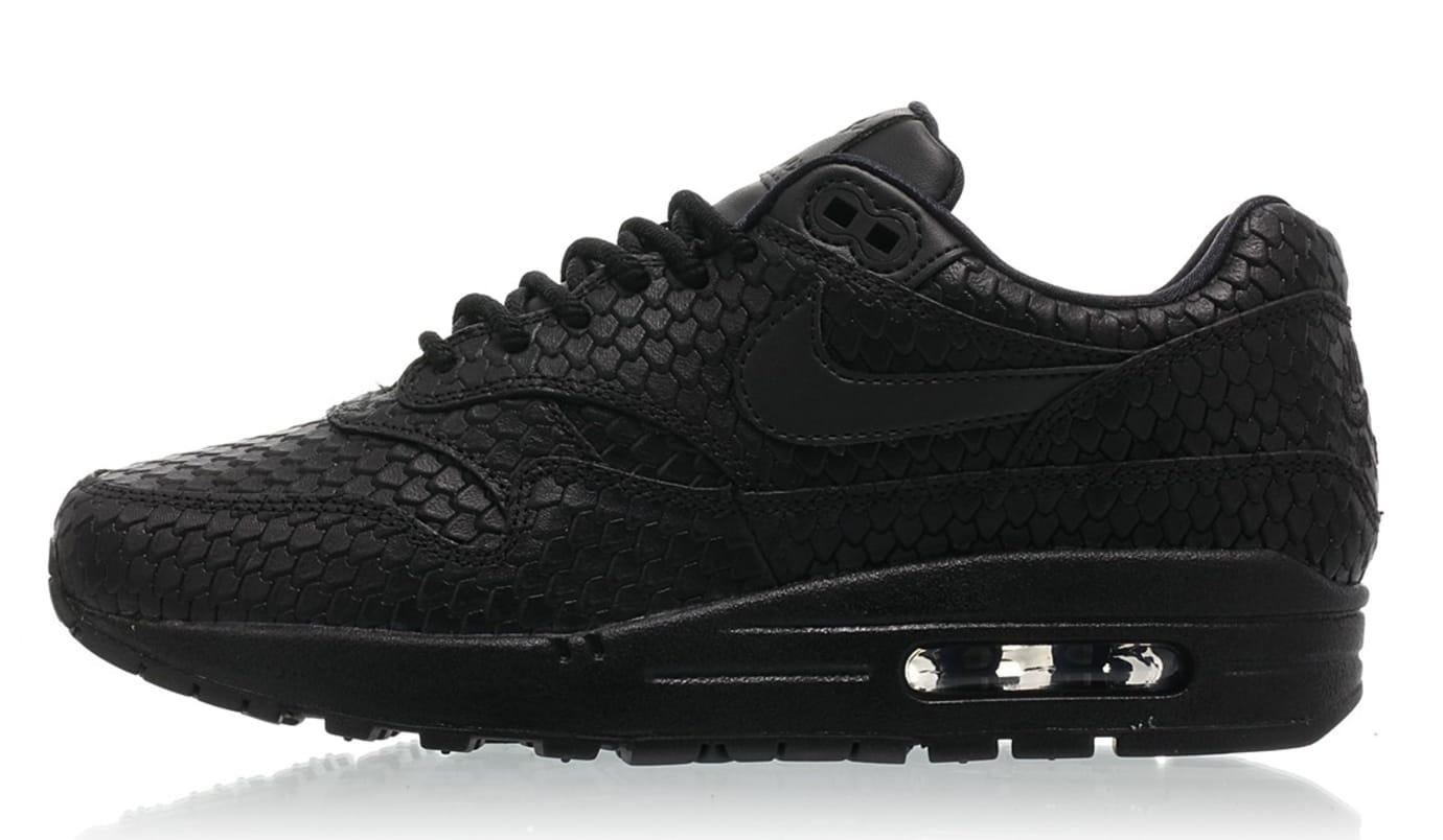 4125f48e5de2b7 WMNS Nike Air Max 1 Premium 454746-014 (Lateral)