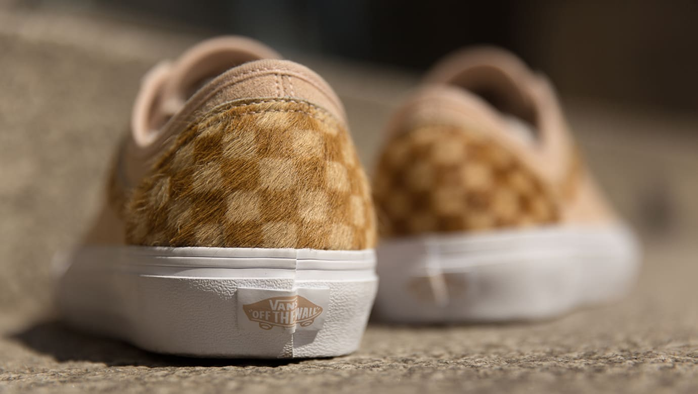 size? exclusive Vans Style 36 'Pony Hair' Pack 'Tan' (Heel)