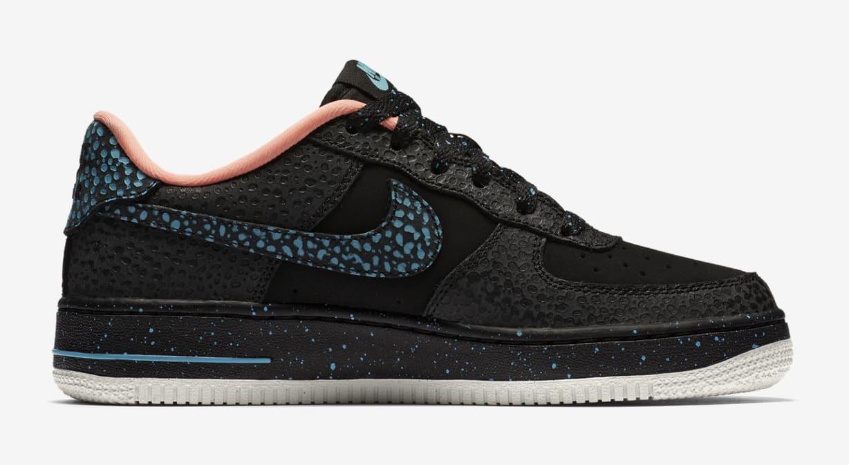 Nike Air Force 1 GS 'Safari' AJ4234-002 (Medial)