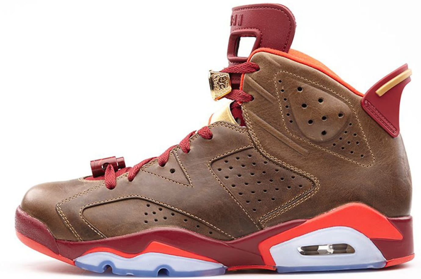 024652ee4270a8 Cigar Air Jordan 6 Sample