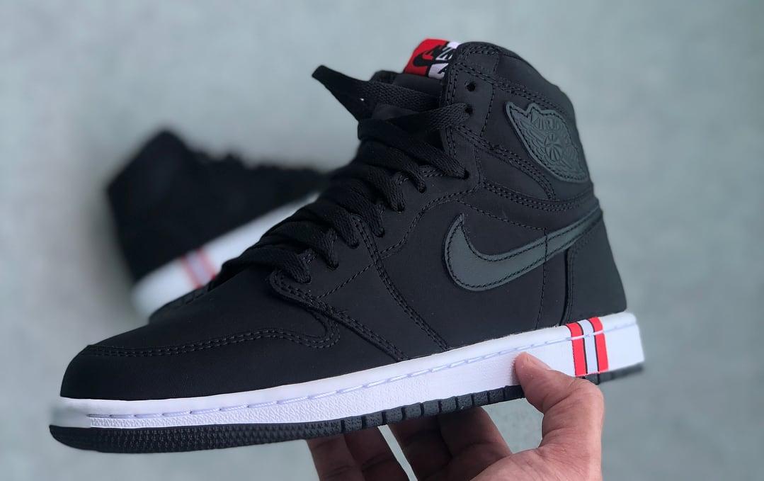 PSG x Air Jordan 1 Release date AR3254-001 Side