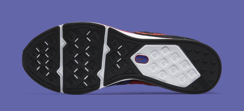 Nike Flyknit Trainer 'Siren Red/Persian Violet' AH8396-003 (Bottom)