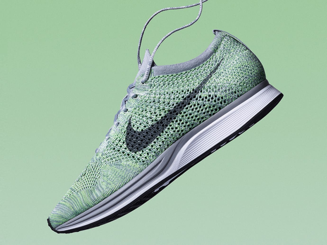low priced 3c075 1933f Image via Nike Nike Flyknit Racer