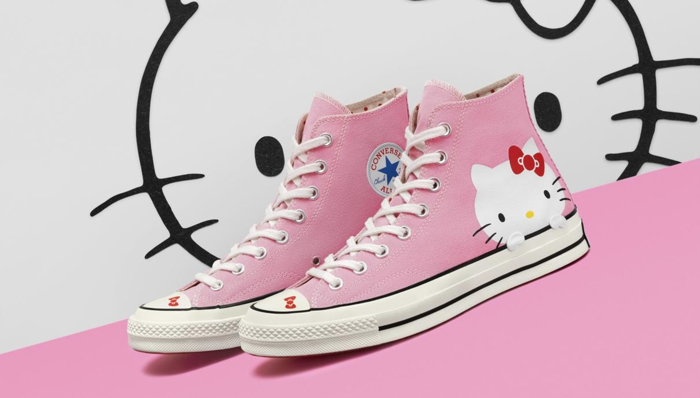 155e5b00ff0 Hello Kitty x Converse Chuck 70 Image via Converse Hello Kitty x Converse  Chuck Taylor All Star
