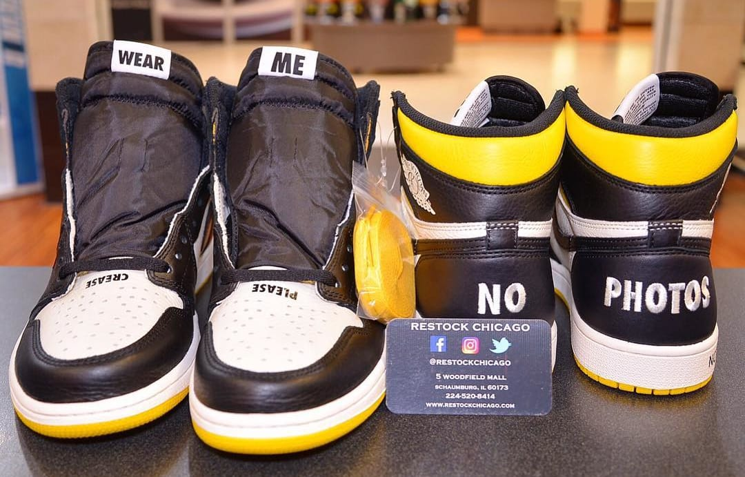 Air Jordan 1 High OG 'No L's' (Front and Back)
