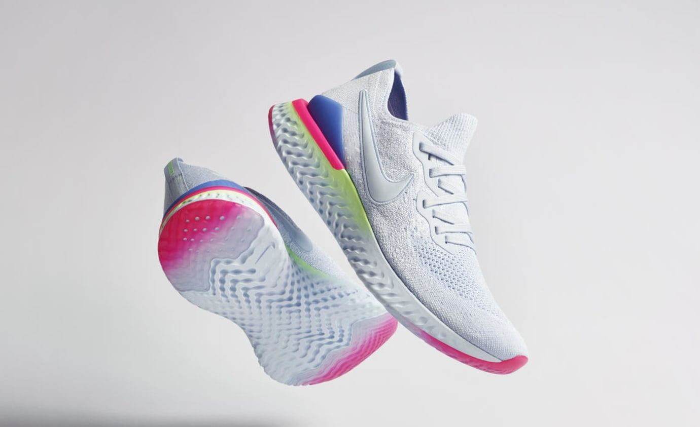 Activo Valiente hará  Nike Epic React Flyknit 2 'Pixel' and '8-Bit' Release Date | Sole Collector