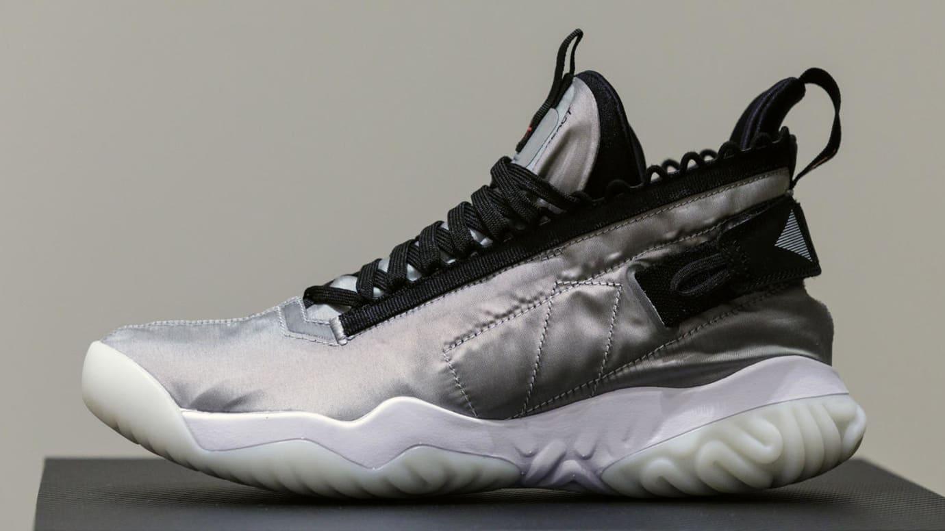 Jordan Proto-React Silver Black White Release Date Profile