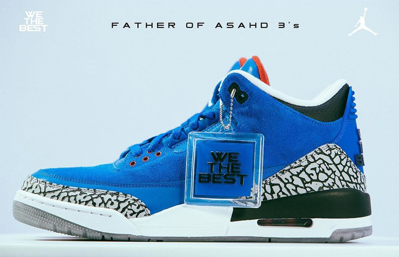 06cf2ae79ef3ec Image via  djkhaled · DJ Khaled x Air Jordan 3  Father of Asahd  (Detail)