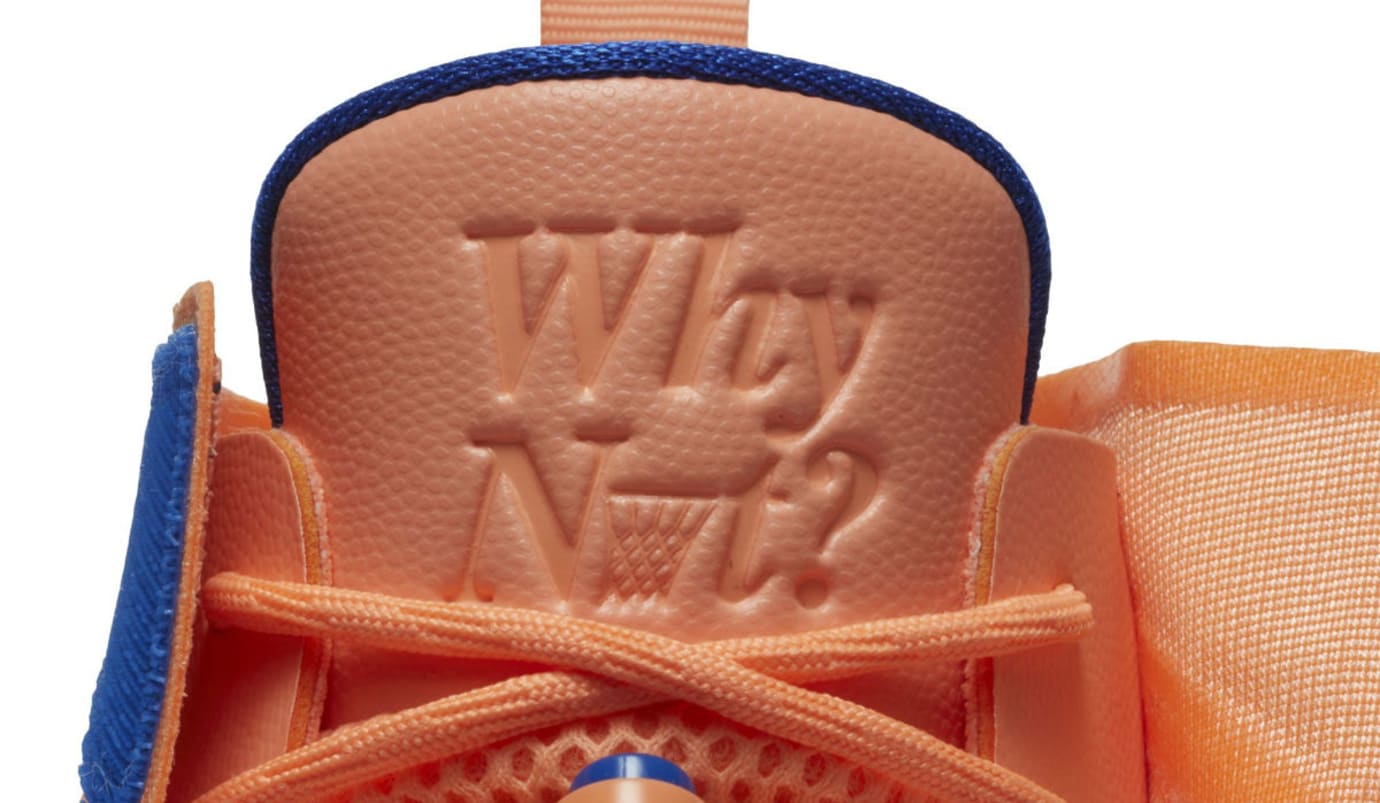 Jordan Fly Next Westbrook OKC Orange Release Date Tongue