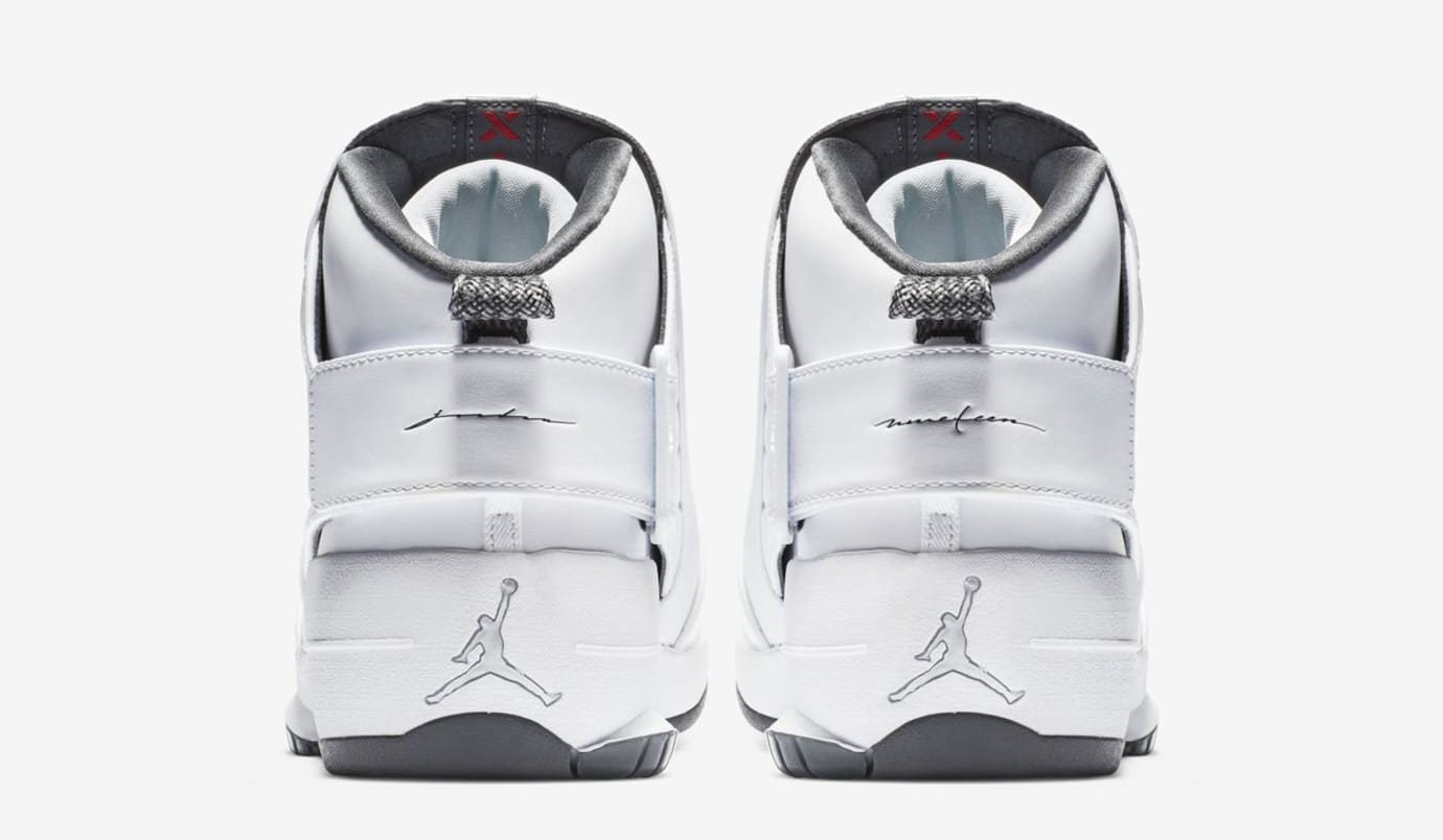 Air Jordan 19 'Melo/Flint Grey' (Heel)