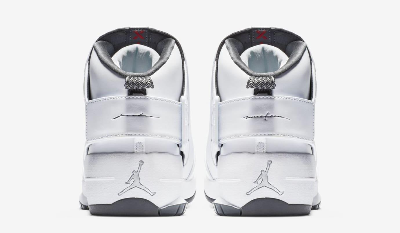 Air Jordan 19 'Melo/Flint Grey' (Heel)