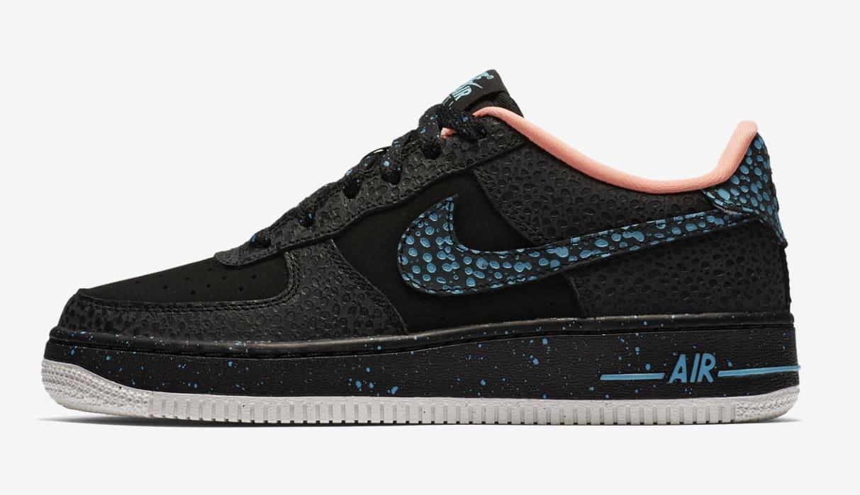 Nike Air Force 1 GS 'Safari' AJ4234-002 (Lateral)