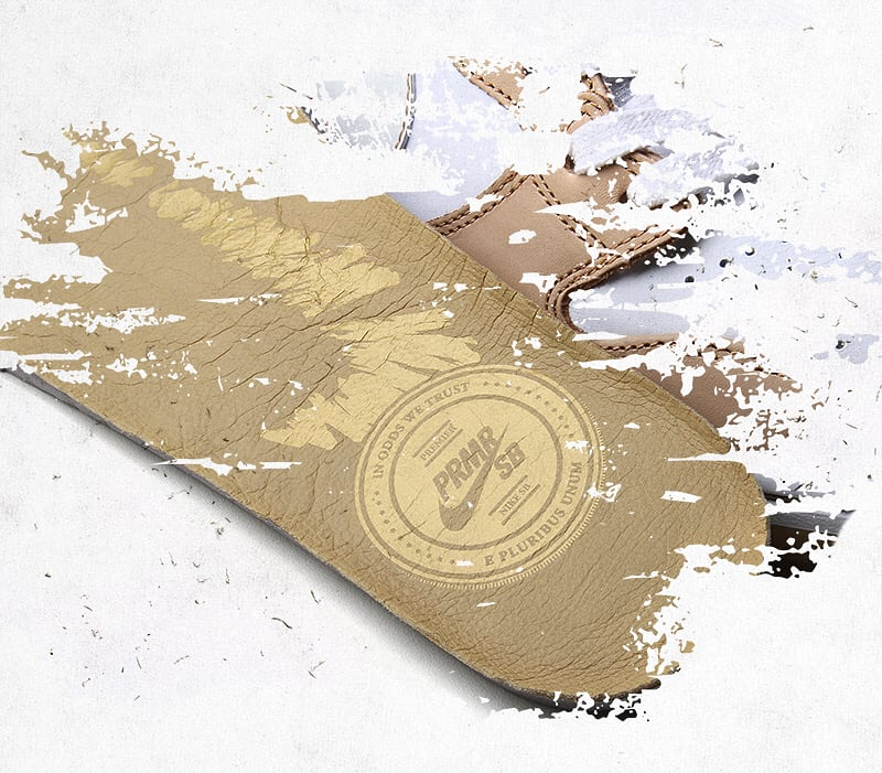 Premier x Nike SB Dunk High TRD (Insole)