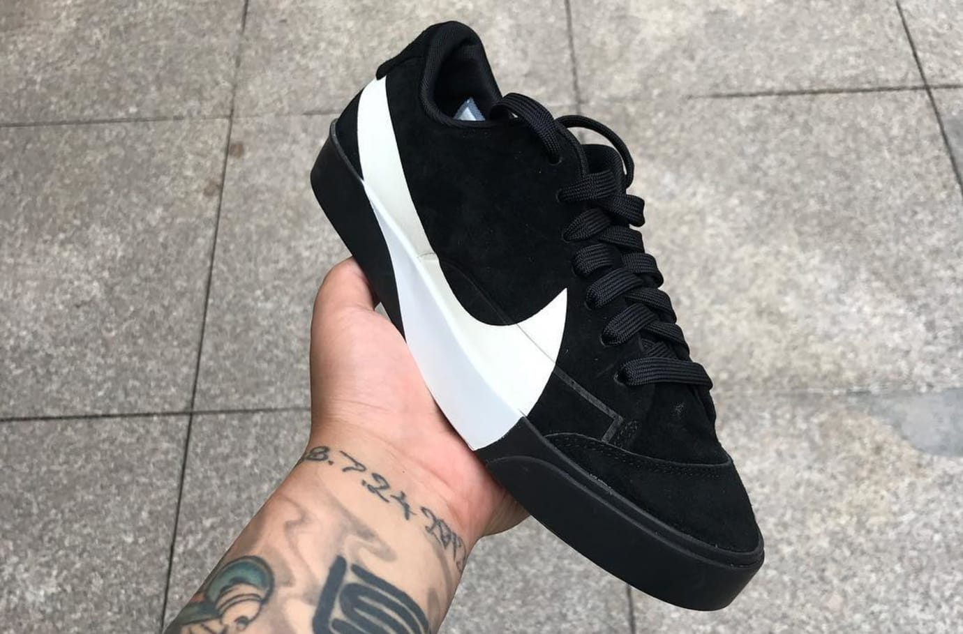 Nike Blazer City Low XS AO2634-001 (Front)