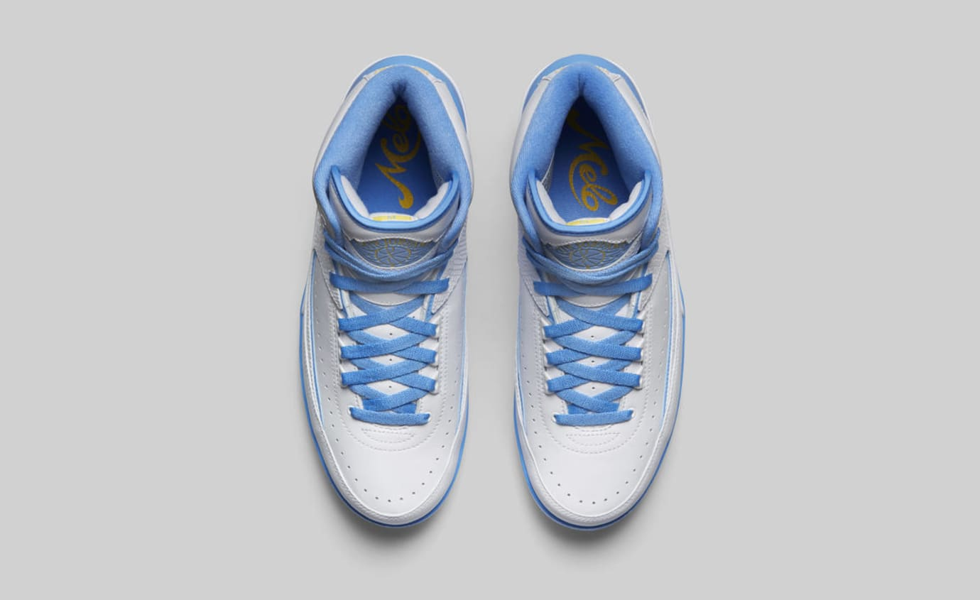 d76a00eba6aa Image via Nike Air Jordan 2  Melo  385475-122 (Top)