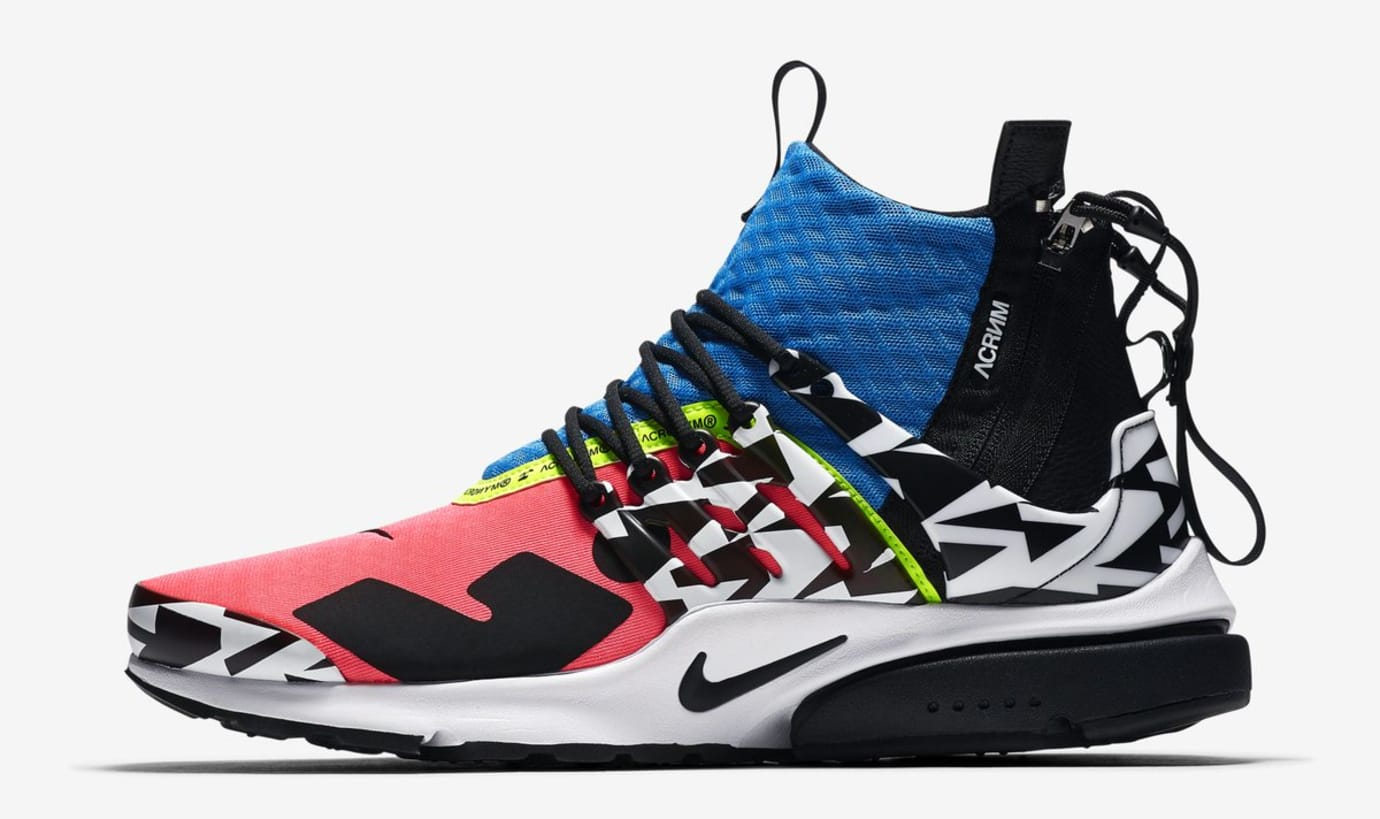 6e65fccd391af4 ... Acronym x Nike Air Presto Mid  Racer Pink Photo Blue Black White