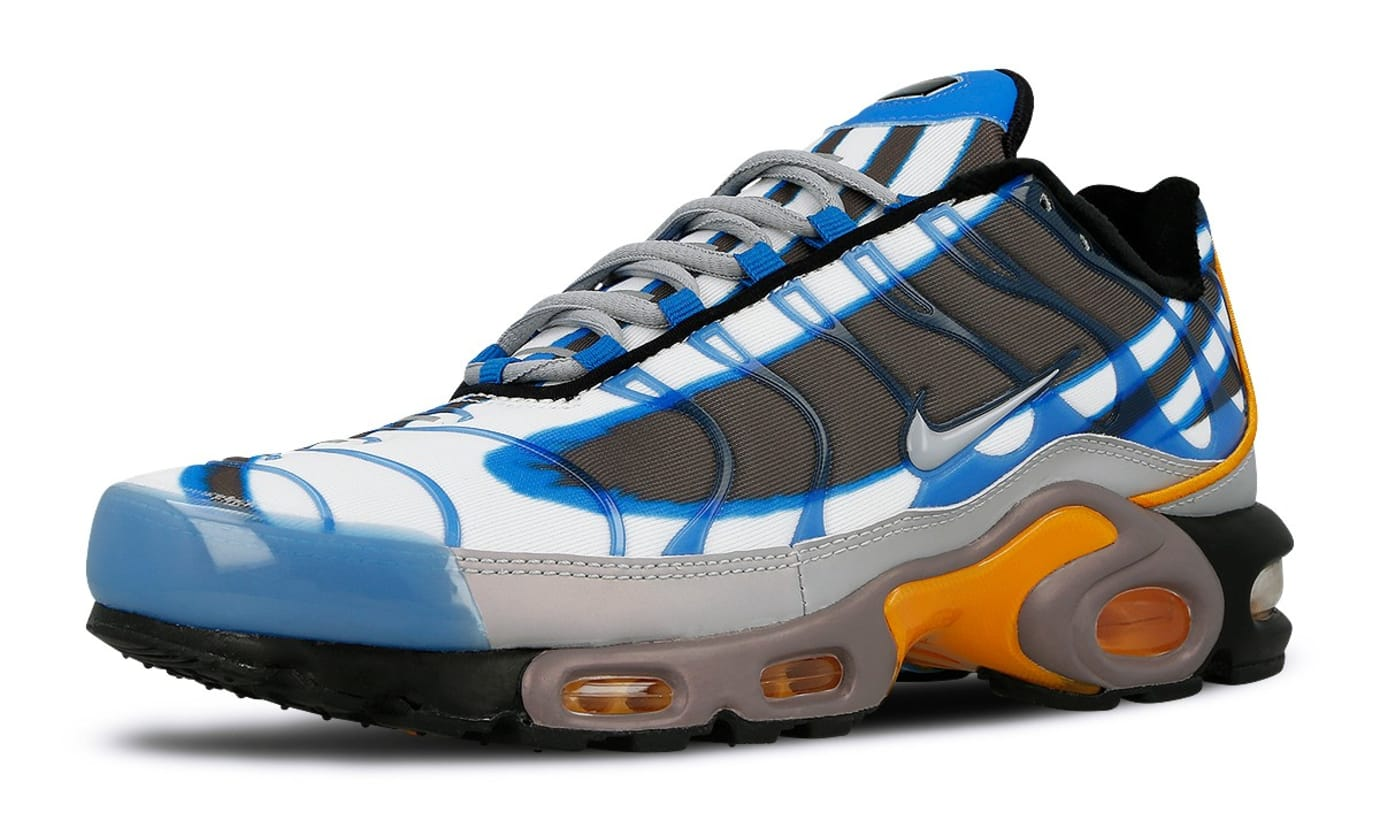 Nike Air Max Plus Premium 'Air Max Deluxe' Photo Blue/Wolf Grey 815995-400 (Toe)