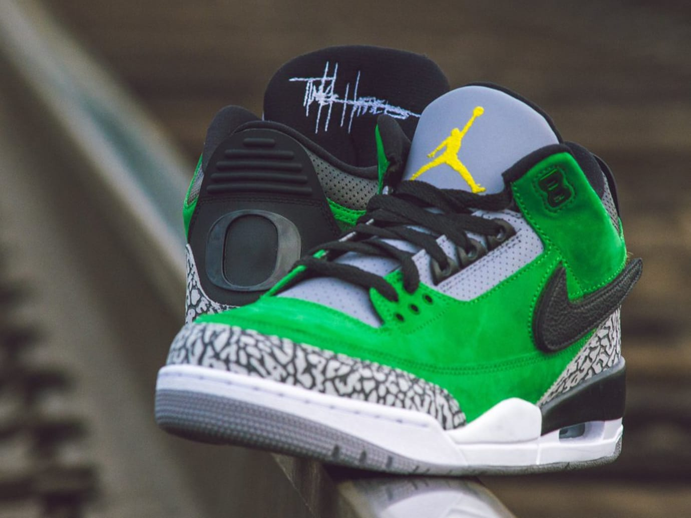 University of Oregon Air Jordan 3