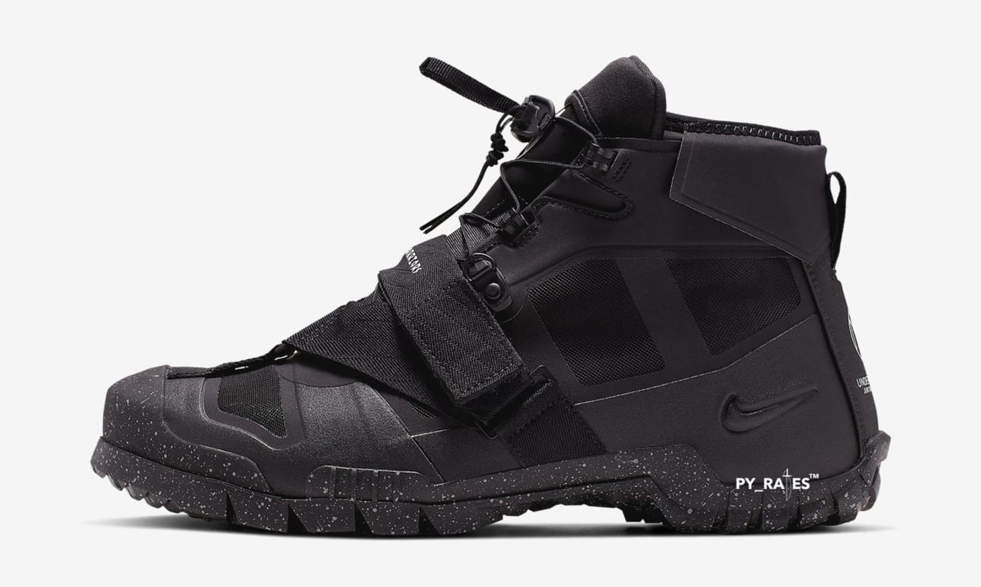 Undercover x Nike SFB Mountain Boot 'Black/Sail' (Lateral)