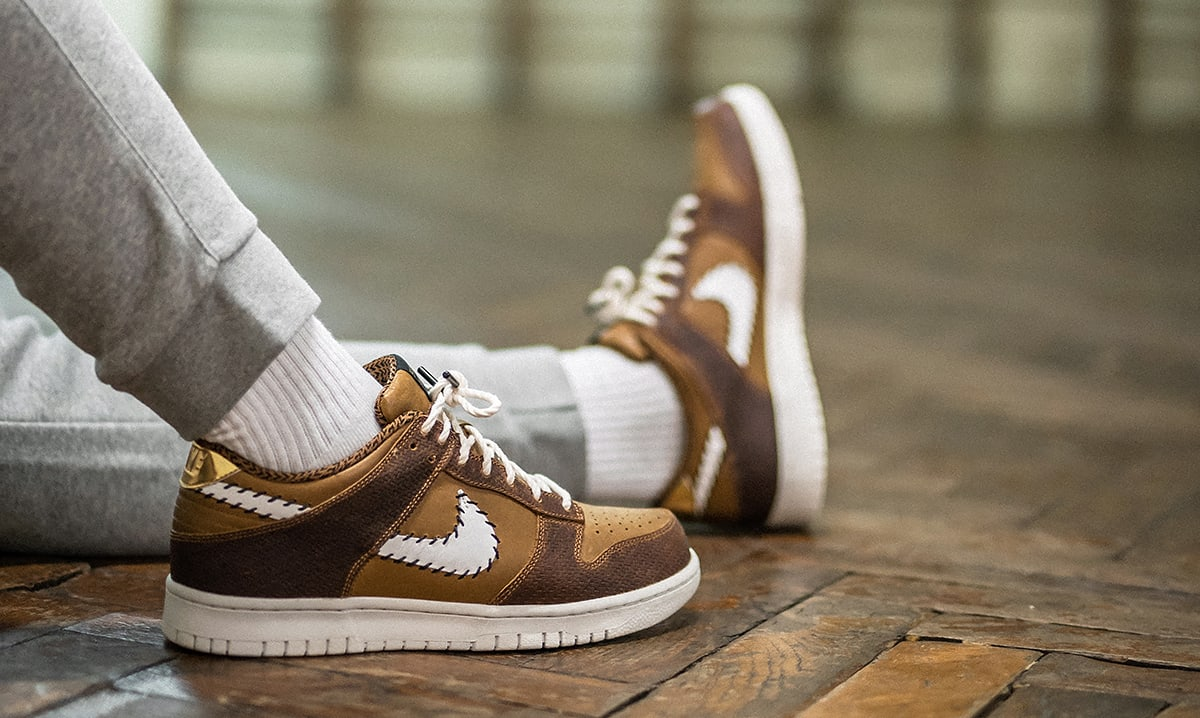 Nike Dunk Low PRM QS Paris 'Ale Brown' AH1072-200 (On-Foot)