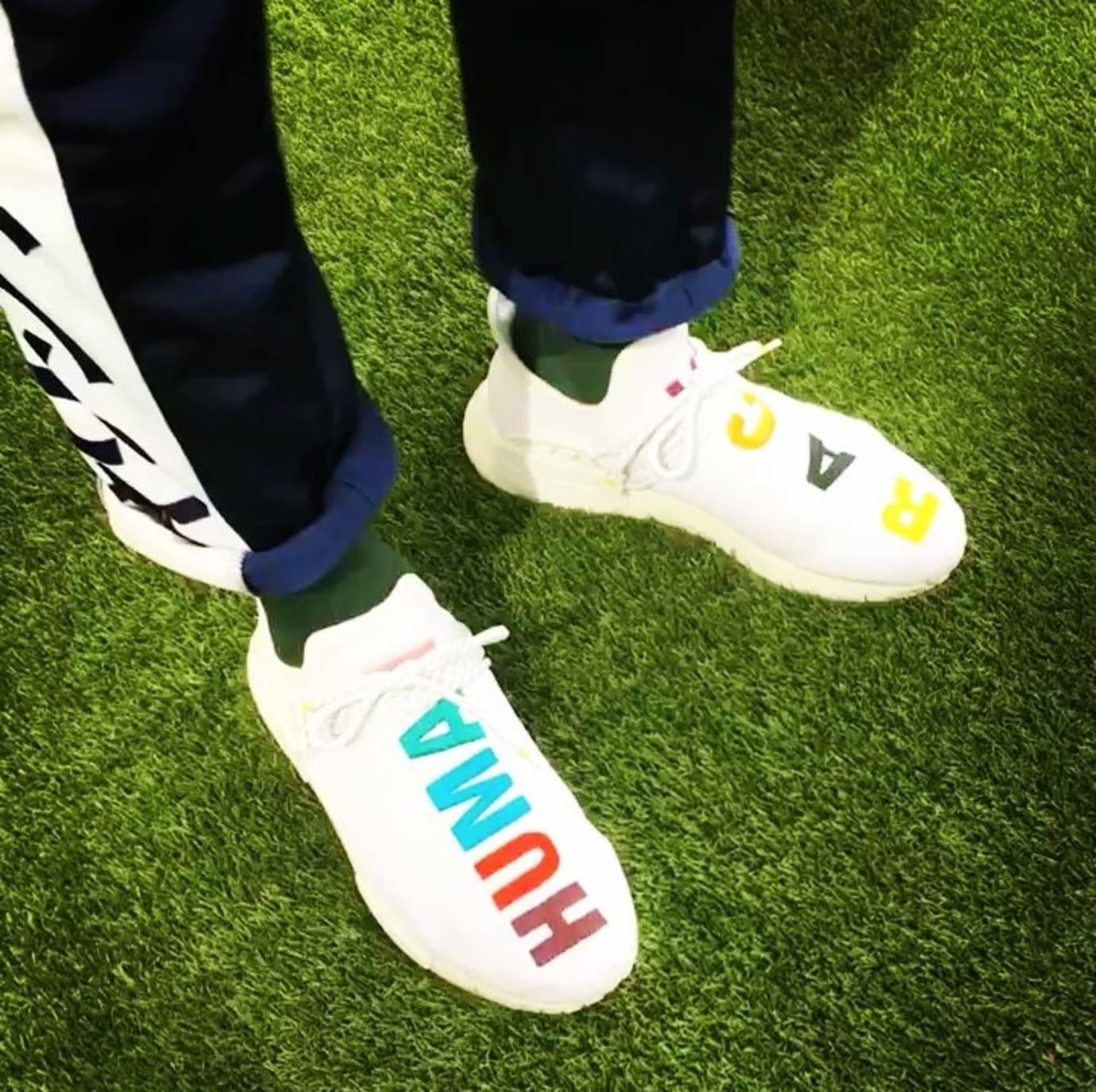 brand new 36b96 6d047 Pharrell Adidas NMD Human Race Birthday Sneakers | Sole ...