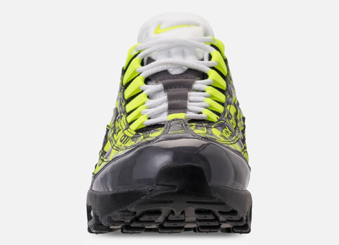 Nike Air Max 95 'Black/Volt/Ash White' 538416-019 (Toe)