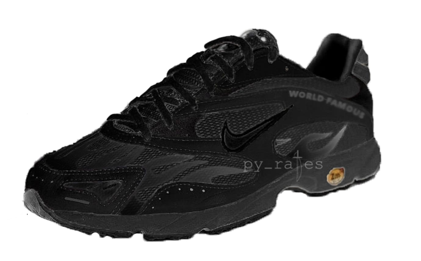 Supreme x Nike Zoom Streak Spectrum Plus Black/Black AQ1279-100