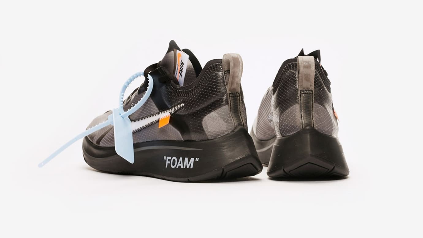Image via Sneakersnstuff Off-White x Nike Zoom Fly SP AJ4588-001  Black  White- 50a8f3acd