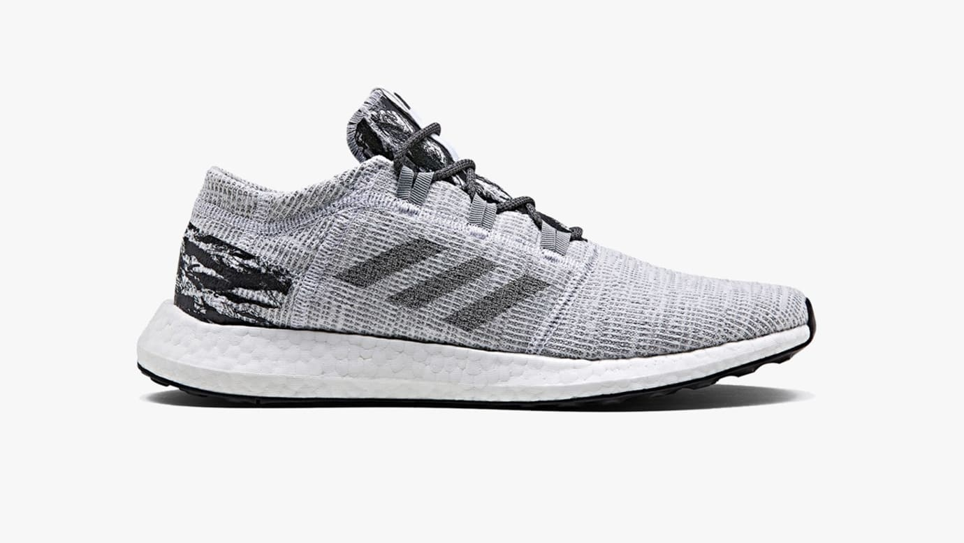 8e37c4d791a7c6 Undefeated x Adidas Pure Boost LTD  Shift Grey  BC0474 Release Date