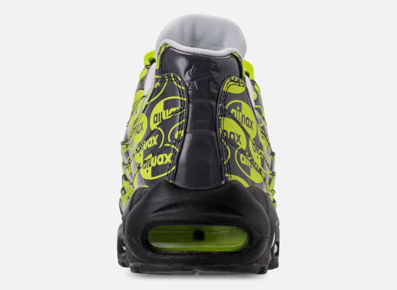 Nike Air Max 95 'Black/Volt/Ash White' 538416-019 (Heel)