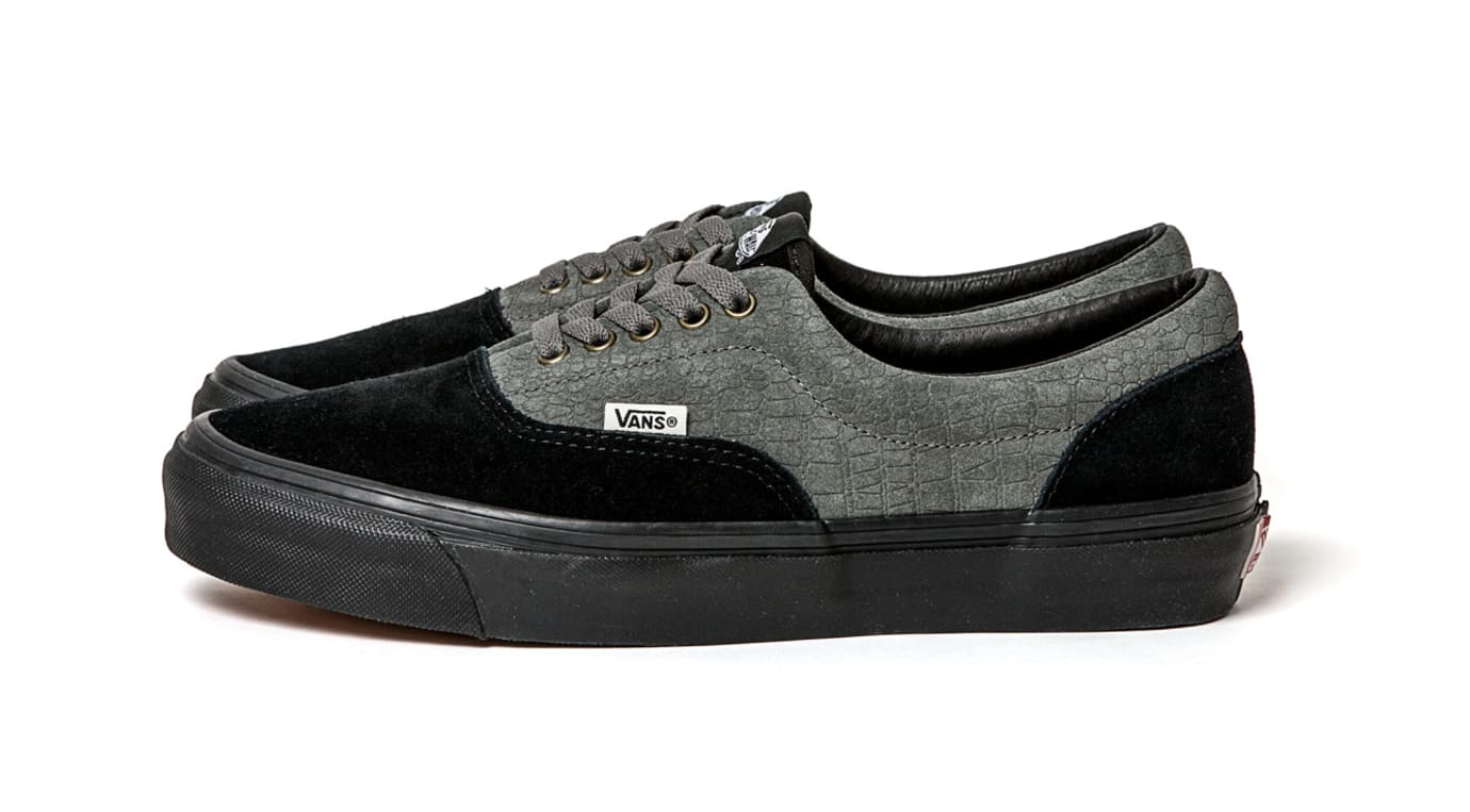 36e748d07121e5 Image via Vans WTAPS x Vans Vault Collection Era  Black