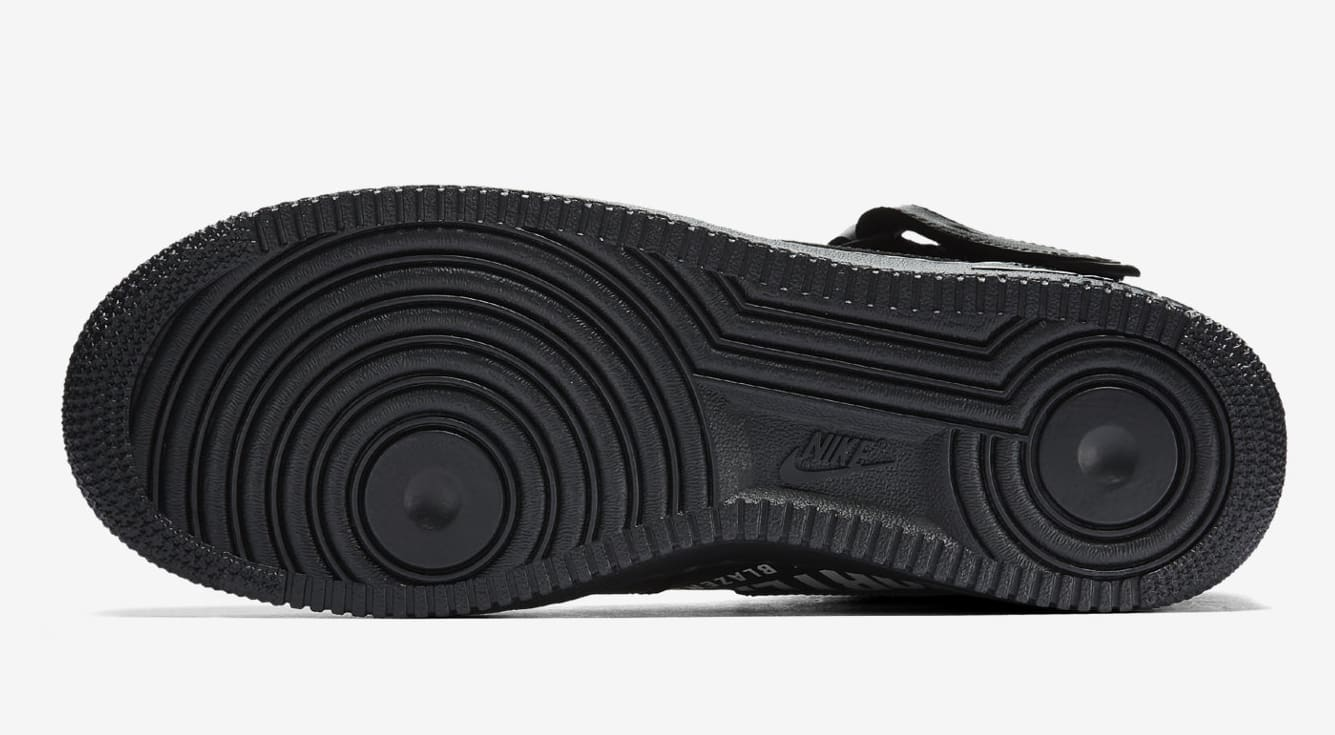 Supreme x NBA x Nike Air Force 1 Mid AQ8017-001 (Sole)