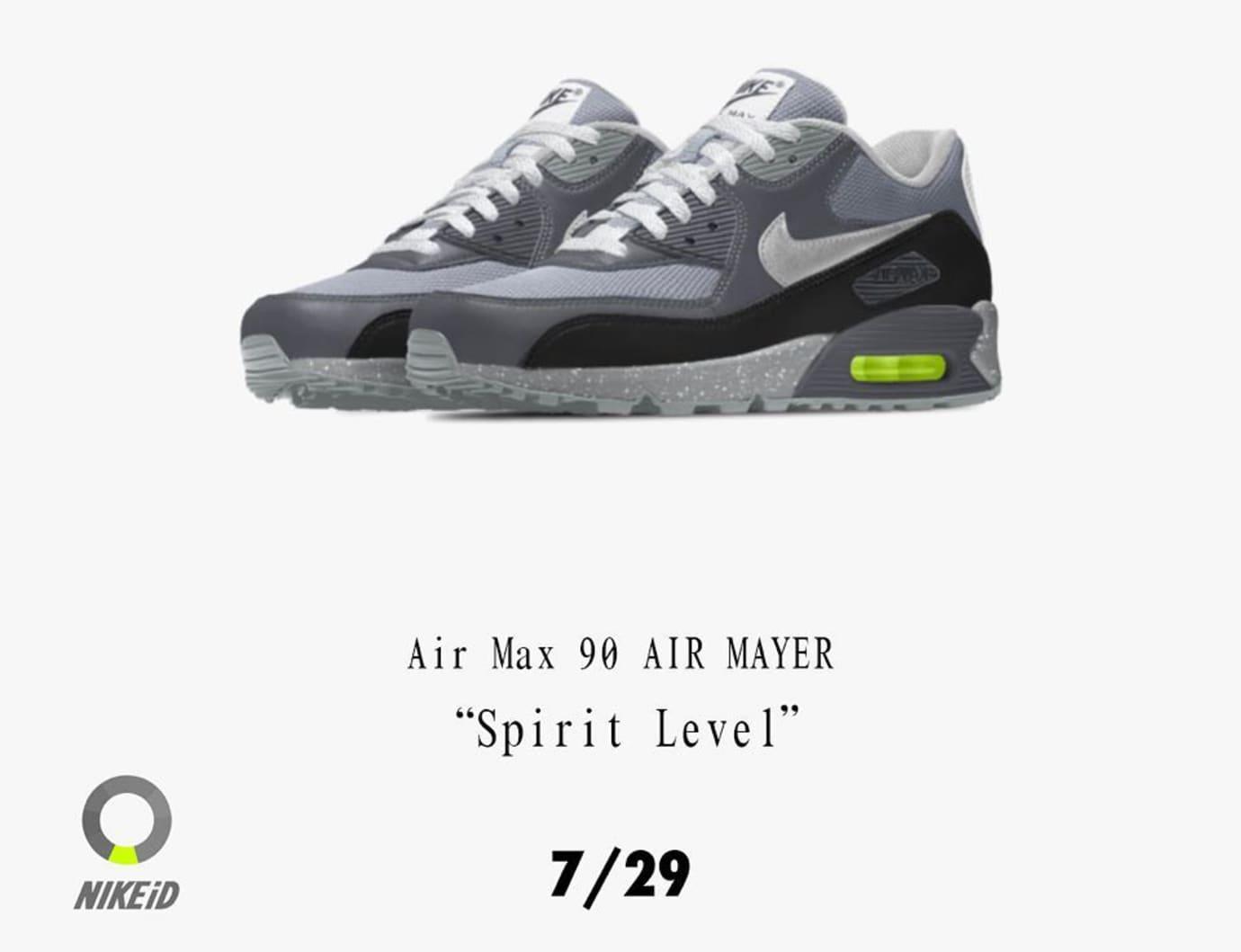 John Mayer Nike Air Max 90 Spirit Level Release Date