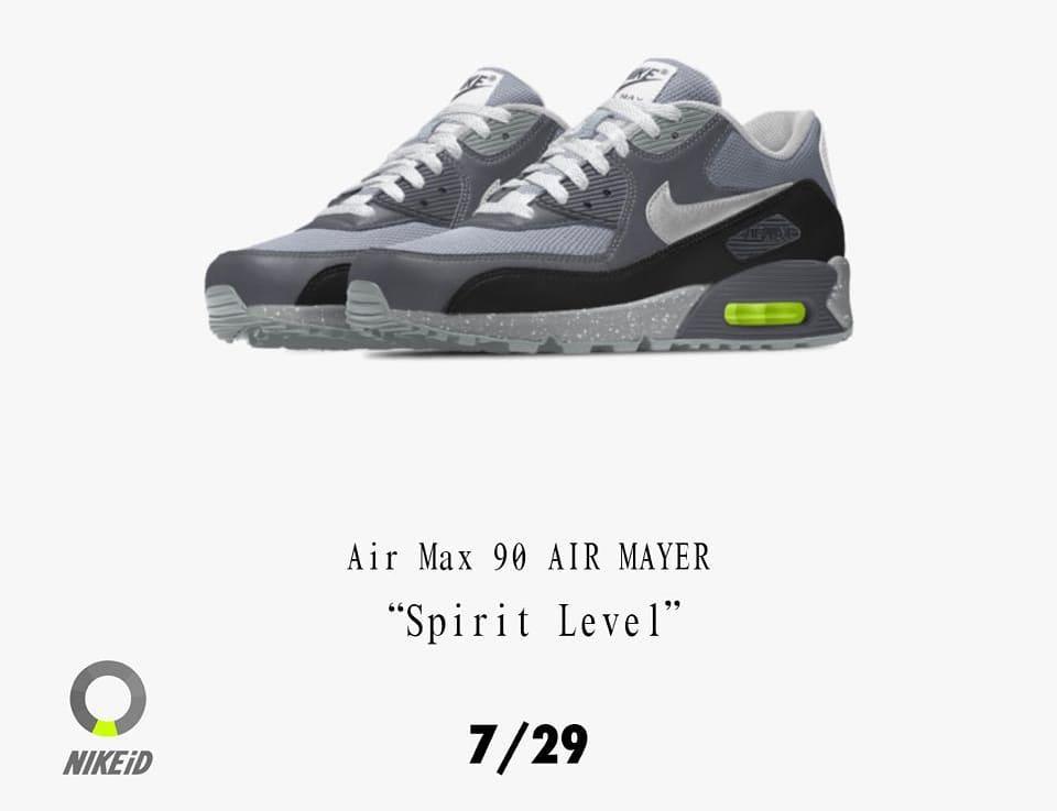 44b6789209 John Mayer Nike Air Max 90 Spirit Level Release Date • Urban