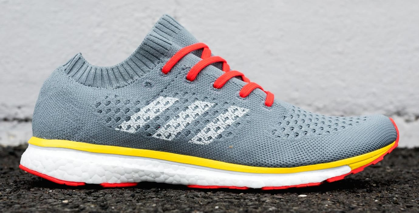 Adidas by Kolor Adizero Prime Grey/Yellow (Lateral)