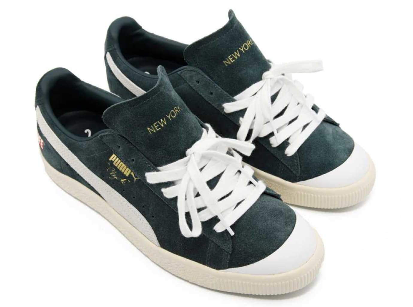 ALIFE x Puma Clyde Green Release Date Front