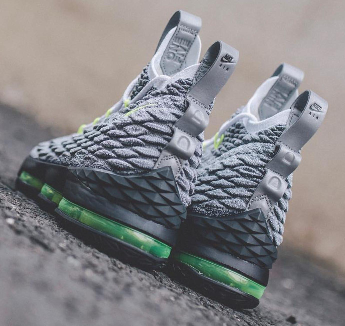 Image via  weocia on Instagram · Nike LeBron 15  Air Max 95  (Heel) 46ddd632e