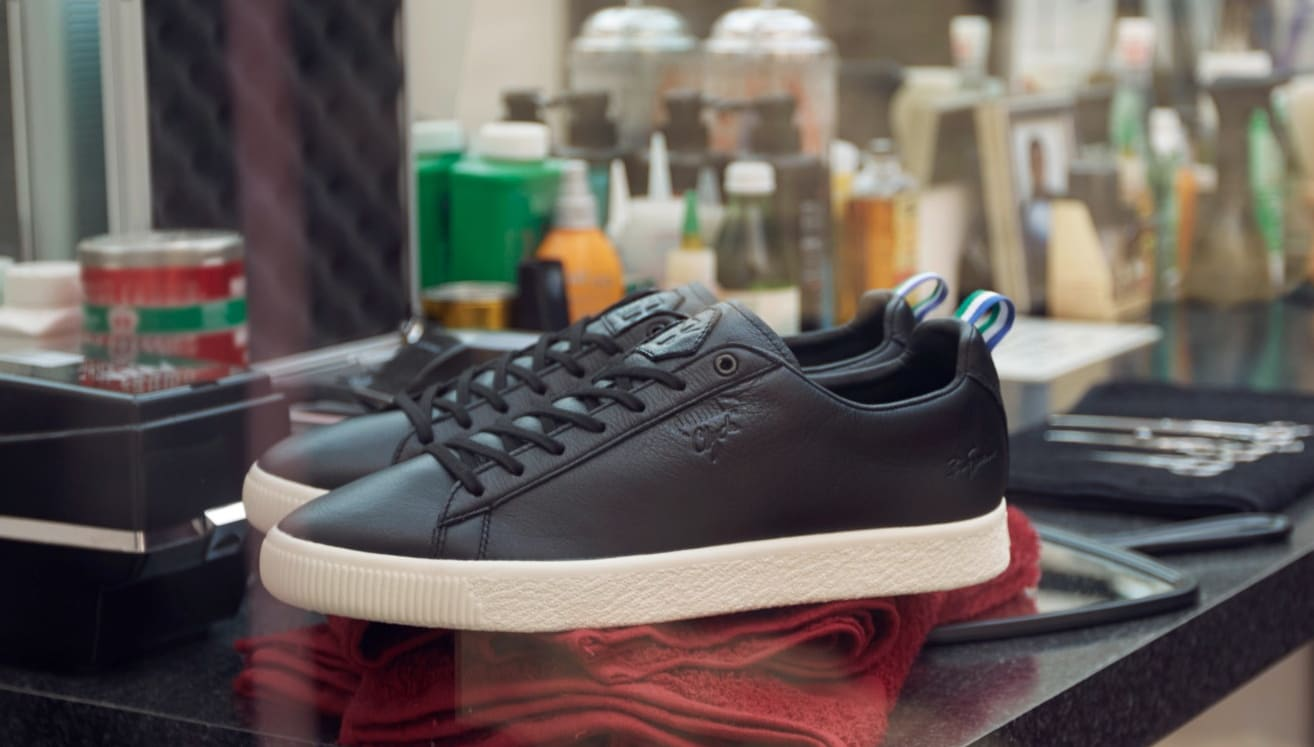 Big Sean x Puma Clyde 'Black' (Pair)