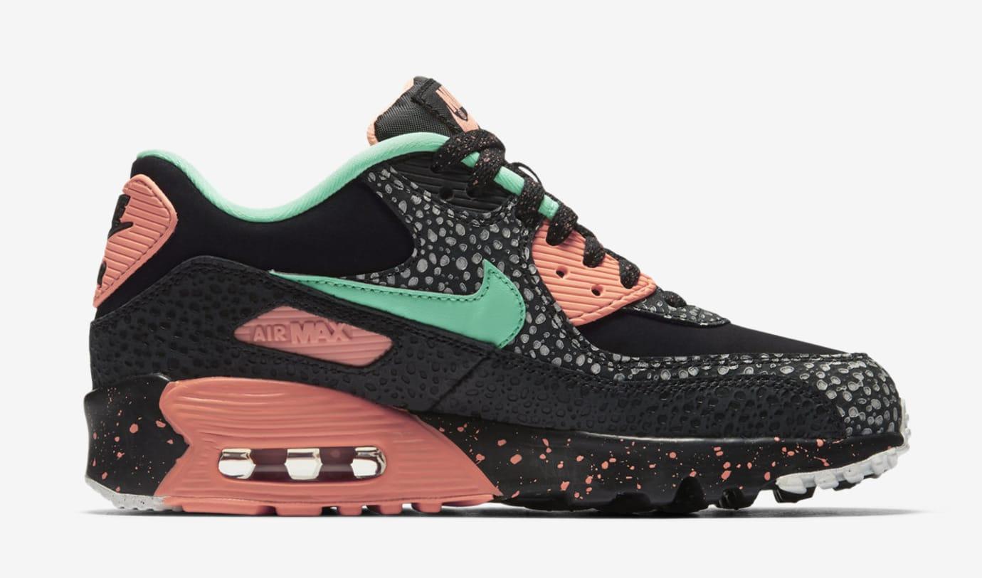 Nike Air Max 90 GS AJ2776-001 (Medial)